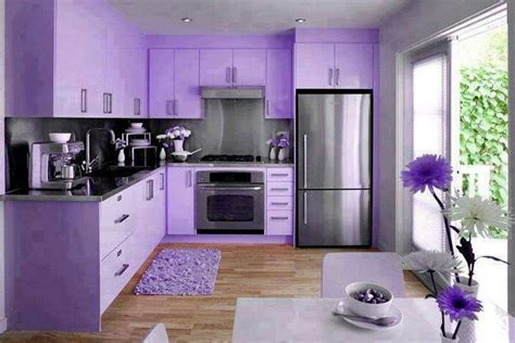 Kitchen Paint Lilac Top 18 Colorful Kitchens You Surely Want For Your Home
