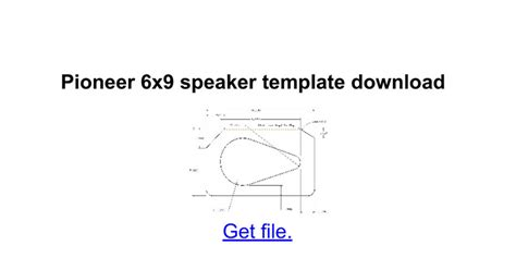 6x9 speaker template 6x9 car speaker templates wiring diagram and fuse box