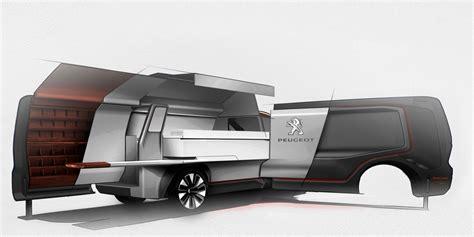 food truck design concept peugeot foodtruck concept design sketch render car body