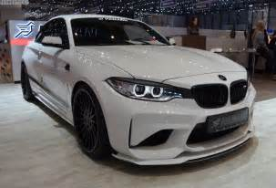 Bmw Tuners 2017 Geneva Bmw M2 With 420 Hp Tuning From Hamann Motorsport