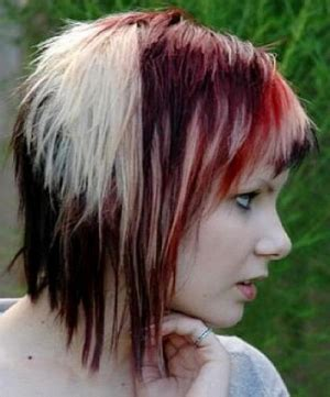 emo hairstyles front and back view tattooed gothic emo sluts justimg com
