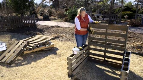 raised bed garden  pallets youtube