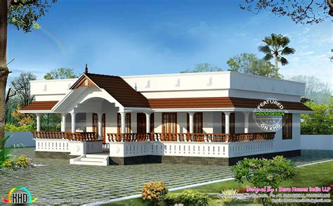 kerala home design 1 floor traditional single floor home kerala home design and