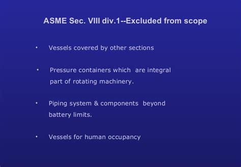 asme section viii training asme section viii div 1 design training