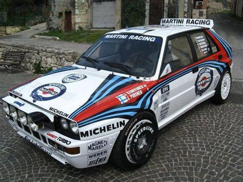 Lancia Rally Cars Lancia Delta Integrale Rally Car A Rallye