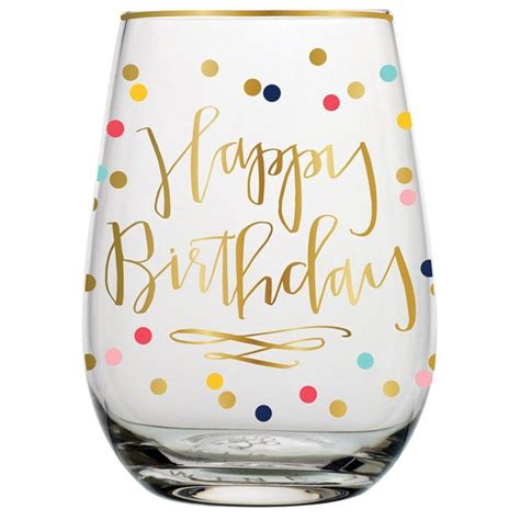 wine glass birthday 25 best ideas about birthday wine glasses on