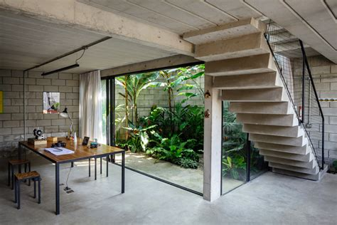 industrial house industrial house in brazil by terra e tuma arquitetos