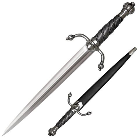cold steel swords for sale cold steel colichemarde dagger sword 88clmd ninjaready