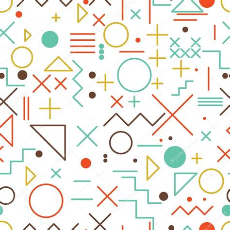 html pattern symbols mathematical symbols seamless pattern with simple colorful