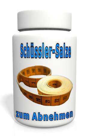schuessler salze zum abnehmen schuessler salze abnehmen