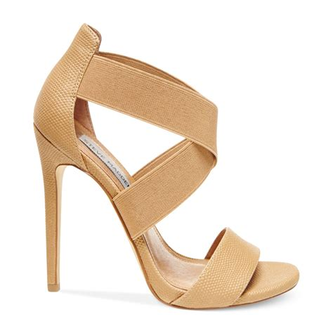 steve madden strappy sandals steve madden womens maarla strappy sandals in beige