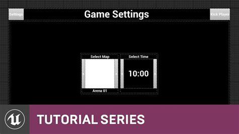 youtube layout settings blueprint multiplayer game settings design 17 v4 11