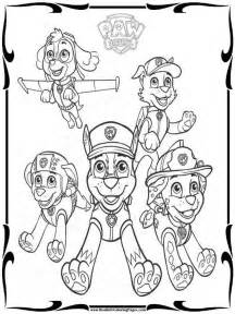 paw patrol free coloring pages free paw patrol coloring pages to print realistic