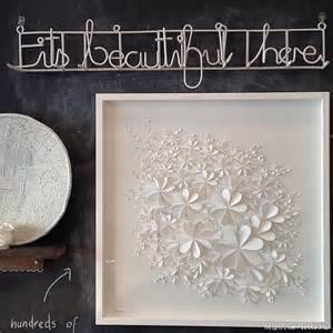 White Wall Decor by 3d Flower Wall Popular Items For 3d Wall Flower On
