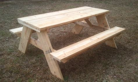 how to build picnic table bench 20 free picnic table plans enjoy outdoor meals with