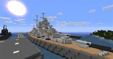 minecraft u boat map minecraft xxl schlachtschiff bismarck v 1 6 1 6 2 mods