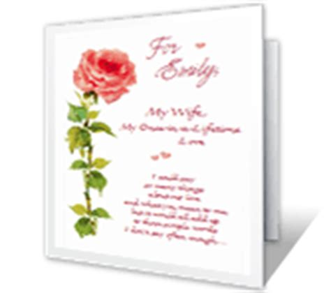 printable anniversary cards for wife anniversary cards print free at blue mountain