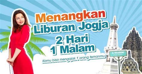 Paket Grafis 2 promo gratis paket liburan jogja 2 hari 1 malam joglo wisata