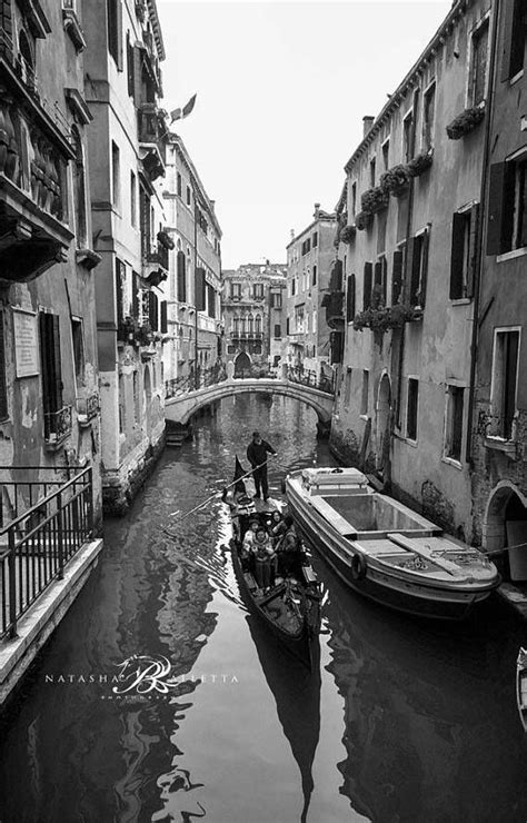 Venice Canal black and white photography prints wall art