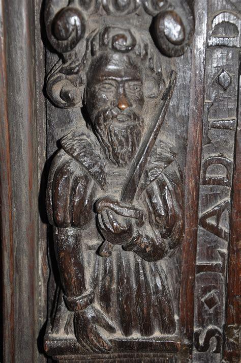 Esther Wide Oak carvings antique categories antiques