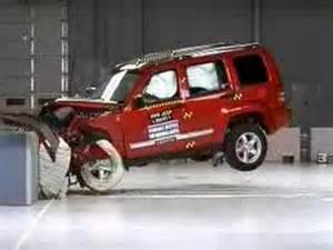 Dodge Nitro Jeep Liberty Comparison Crash Test 2008 2011 Jeep Liberty Dodge Nitro Frontal