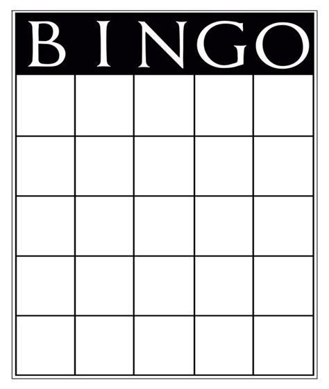 empty bingo card template generous empty bingo card template pictures inspiration