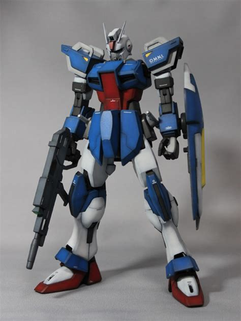 Gundam 1144 Strike Dagger 1 100 gat 01a1 dagger 105 dagger aqm e a4e1 jet dagger scratchbuild work from mg strike