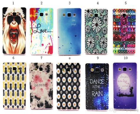 Samsung Galaxy S4 Supreme Marble Cover Casing flower tribal pineapple tpu soft silicone ultra thin