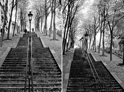 famous stairs montmartre