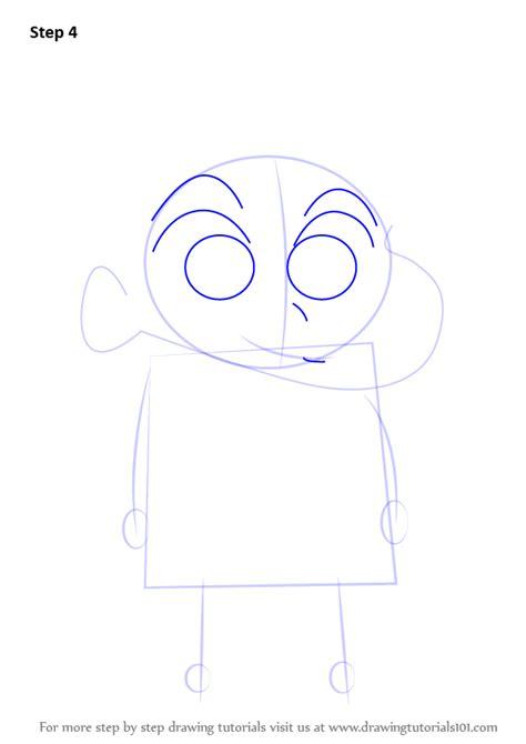 tutorial alis shinchan learn how to draw kazama from shin chan shin chan step
