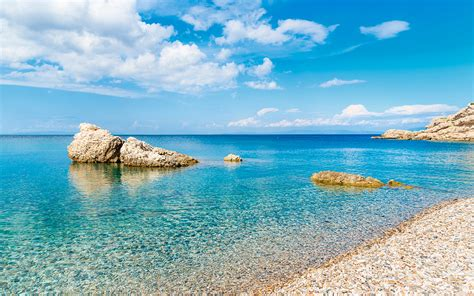 best beaches greece four beaches among europe s best mysterious greece