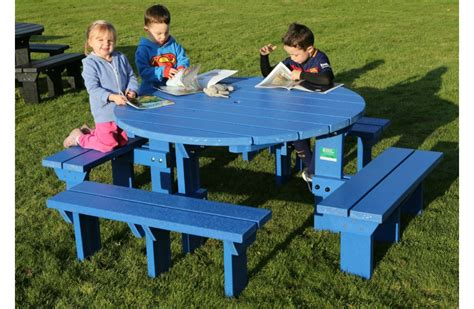 picnic benches for schools junior olympic recycled plastic picnic bench