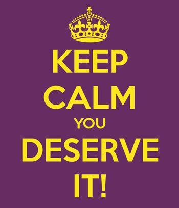 you deserve it do i really deserve it simple moments stick