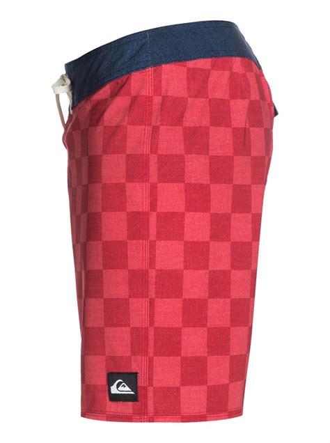 Kemeja Original Quiksilver Print 18 yoke checker 18 boardshorts aqybs03002 quiksilver