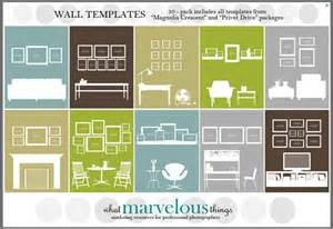 Photo Wall Display Template by Tips And Ideas For Hanging Pictures And Gallery Wall