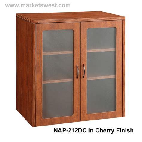 napa  storage cabinet wood doors