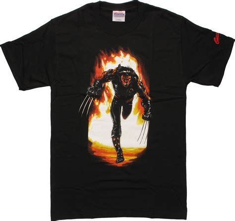 Tshirt X The Wolverine Roffico Cloth wolverine running t shirt