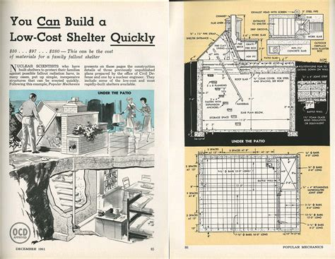bunker building plans find house home building plans bomb shelters then and now