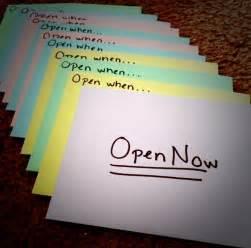 quot open when quot letter ideas for a friend or boyfriend