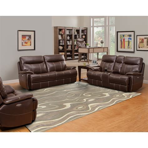 2 cushion reclining sofa parker living dylan dual reclining two cushion sofa with