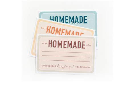 Etiketten Drucken Selber by Etiketten Zum Selber Ausdrucken Quot Home Made Quot
