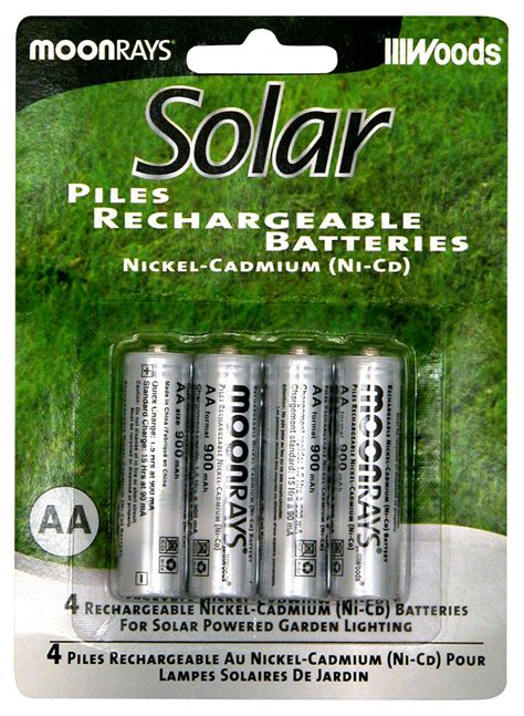 Amazon Com Moonrays Rechargeable Nicd Batteries For Batteries For Solar Lights Outdoor