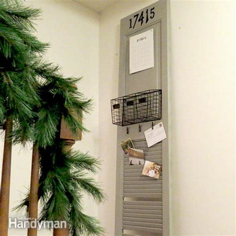 a looking residence is awaiting yourself easy to build diy mail organizer family handyman