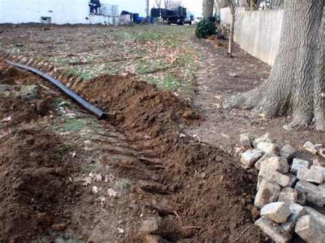 gardening landscaping french drain cost extra money