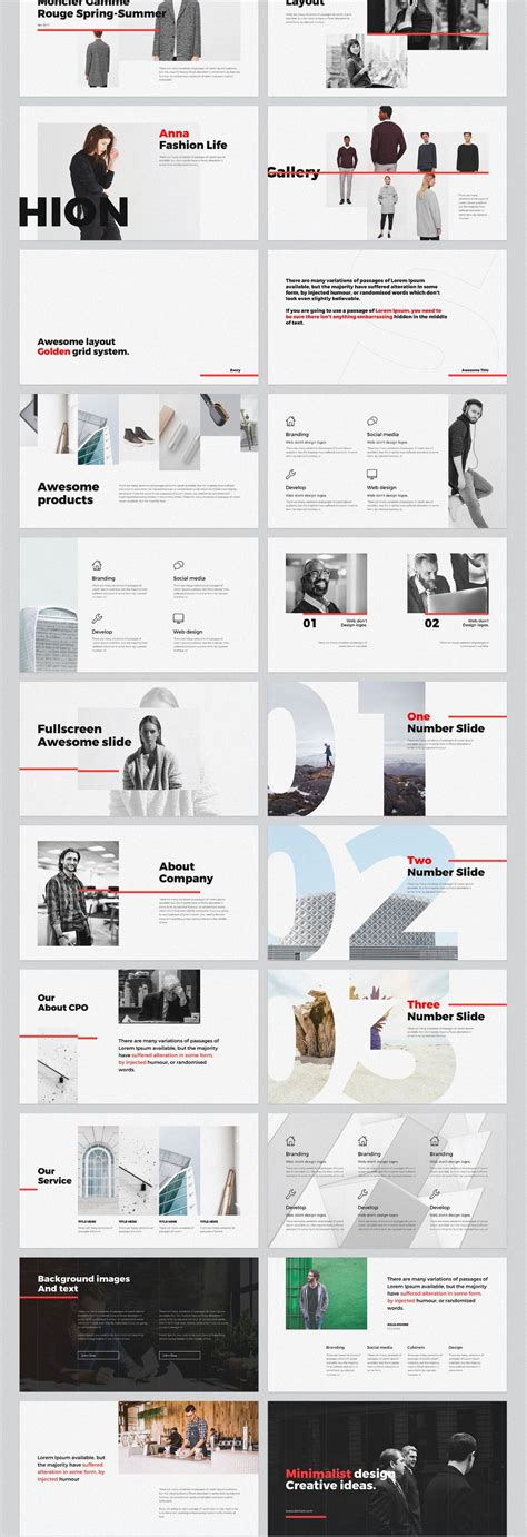 pinterest powerpoint layout 미니멀 무료 파워포인트 ppt 템플릿 free minimal powerpoint template