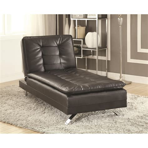 futon chaise lounge coaster erickson 508062 futon bed chaise lounge del sol