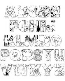 Free Animal Alphabet Coloring Pages » Ideas Home Design