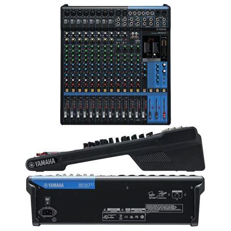 Mixer Yamaha Mg16xu yamaha mg16xu mixer