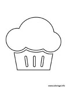 coloriage cupcake gonfle jecolorie com