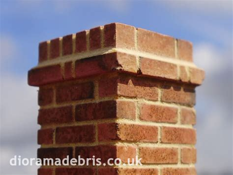 Brick Wall Pier Caps - 1 35 scale pier caps wall coping brick mould 0350069
